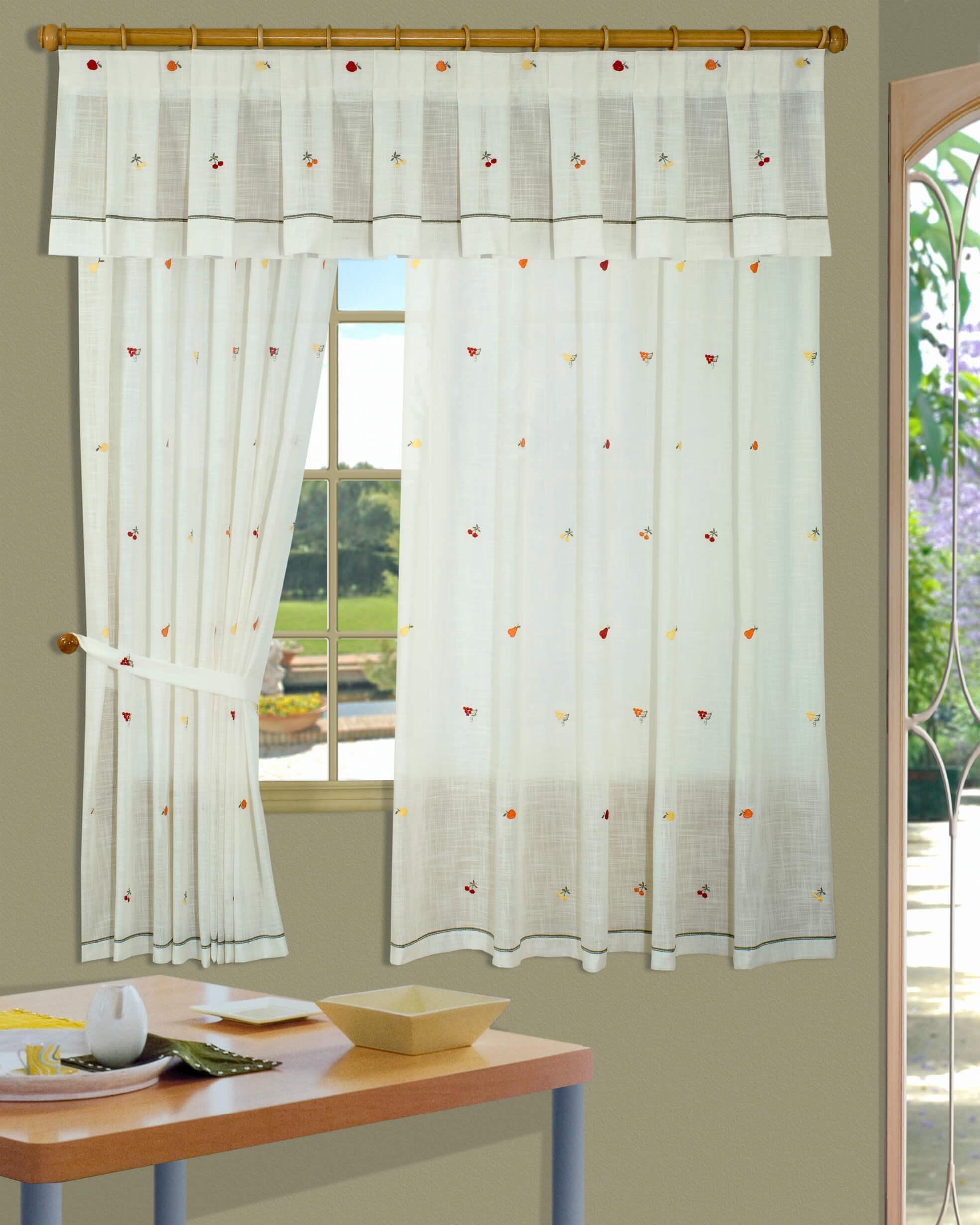 Fotos cortinas cocina amazing las cortinas para cocina - Cortinas baratas zaragoza ...