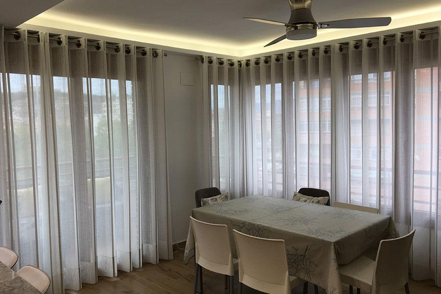 Cortinas modernas en zaragoza cortinajes com n - Cortinas zaragoza ...