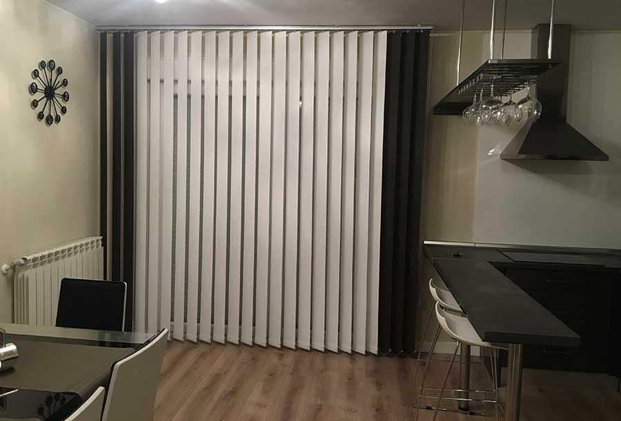 Cortinas verticales en Zaragoza | Cortinajes Comín