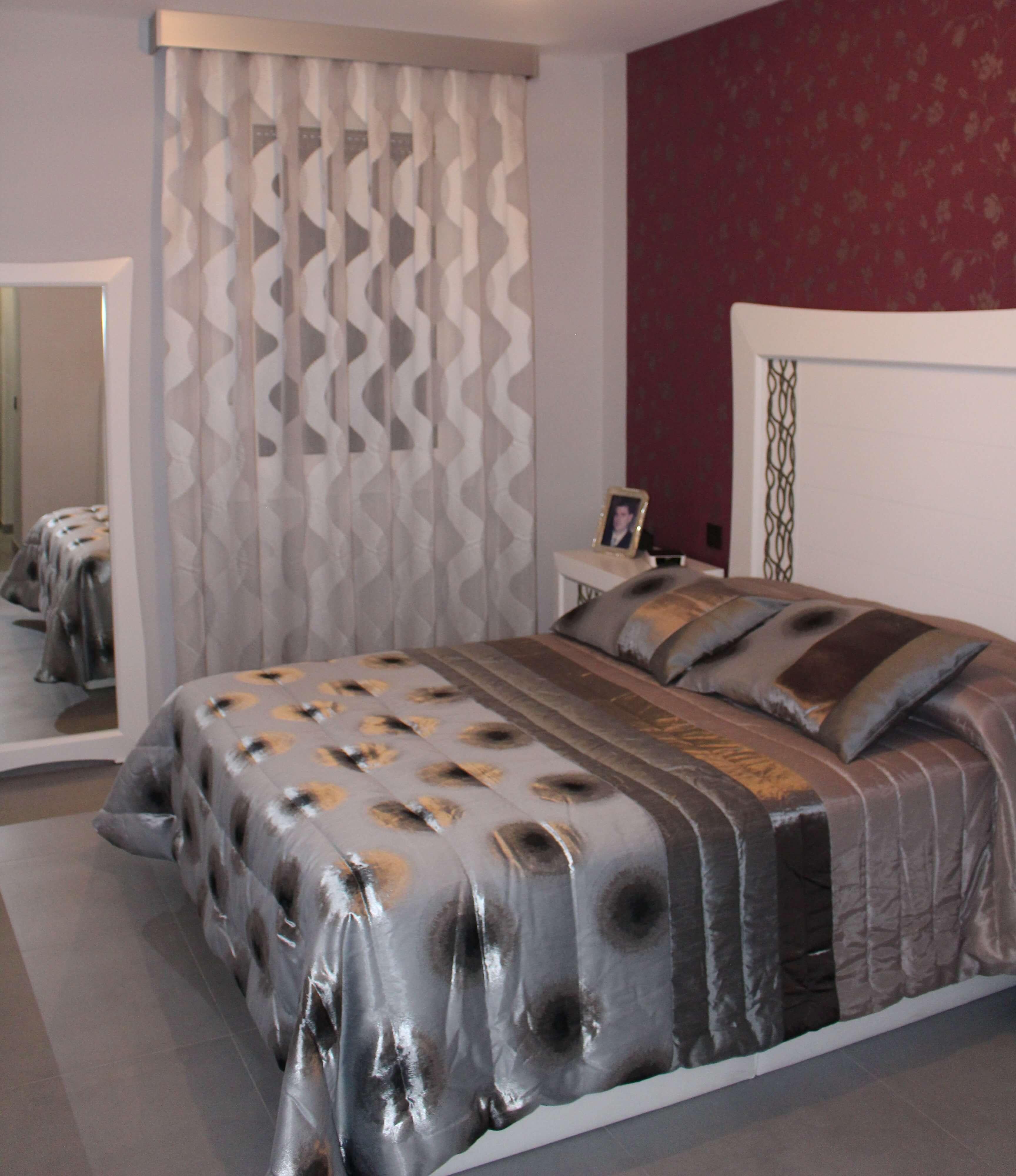 Cortinas de dormitorio en zaragoza cortinajes com n for Cortinas de habitacion