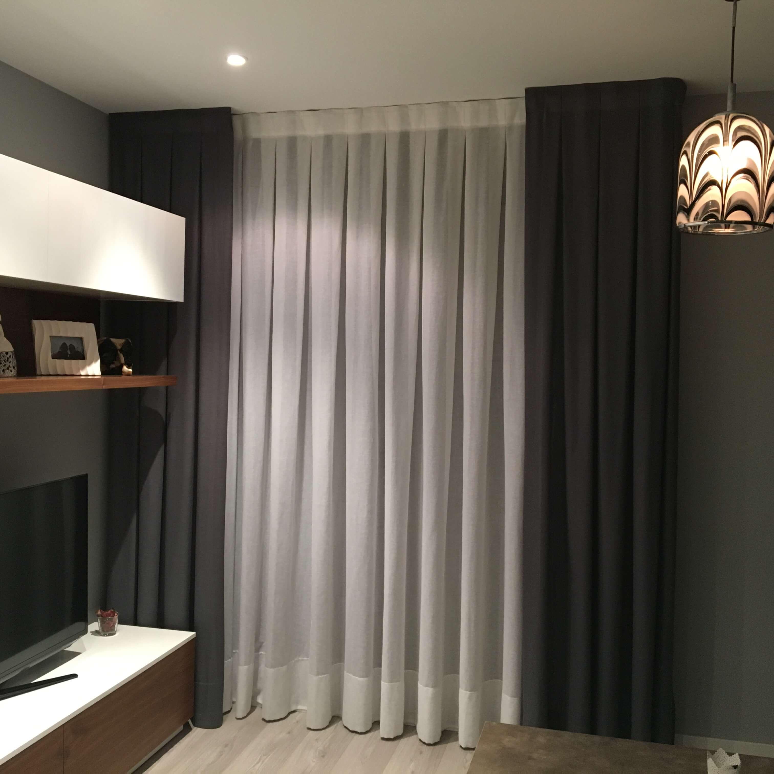 Cortinas de salon 5 cheap cortinas baratas para salon - Cortinas baratas zaragoza ...
