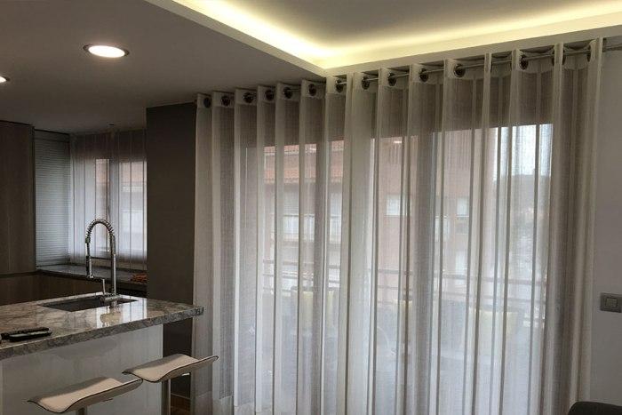 tejidos cortina cocina