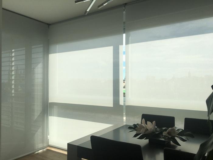 tamaño cortinas enrollables