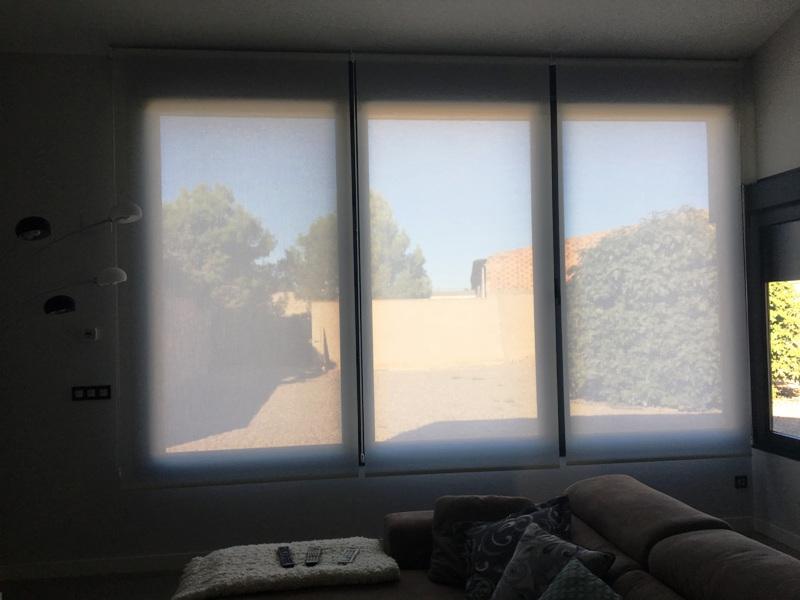 consejos instalacion cortinas semitransparentes