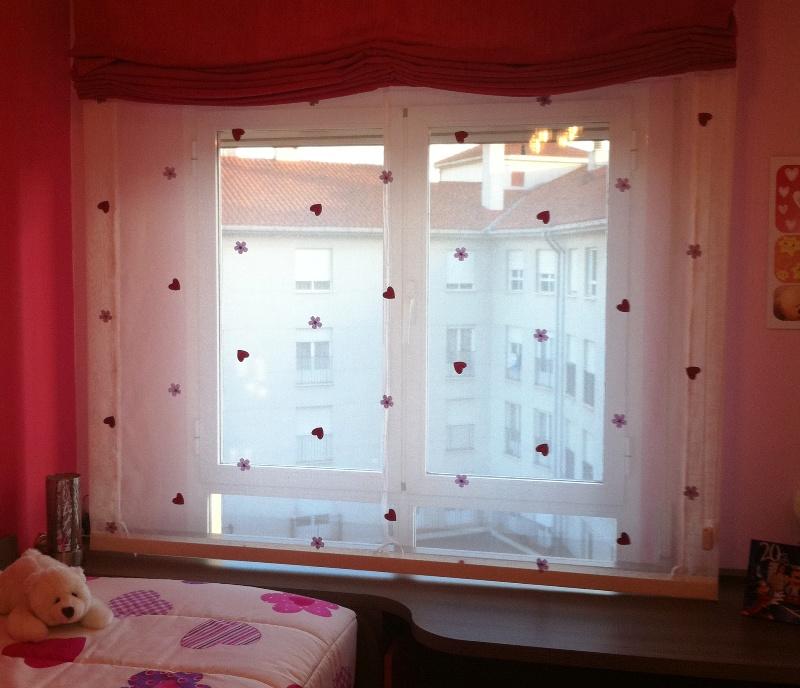 cortinas semitransparentes habitaciones