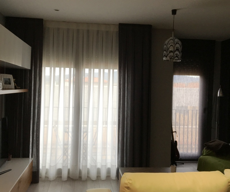 cortinas translucidas iluminacion