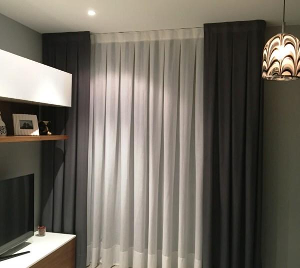 cortinas barras rieles