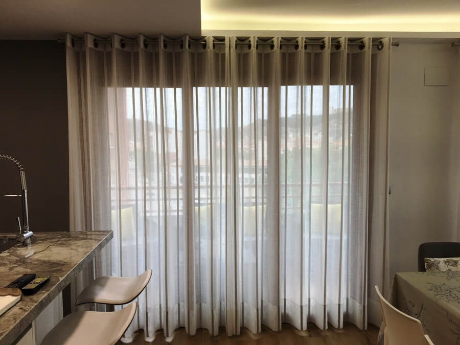 cortinas barras