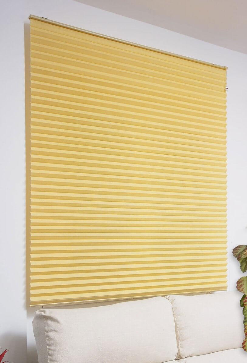 montar cortina plisada