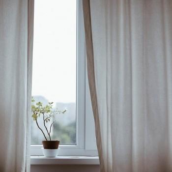 limpieza lavar cortinas