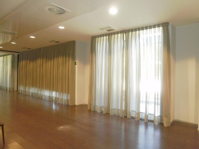 cortinas salon hotel