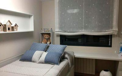 Tipos de cortinas para habitaciones infantiles