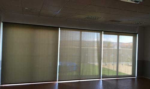 cortinas para colegios en zaragoza